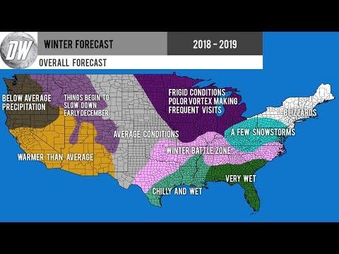 Preliminary Winter Forecast 2018  2019 #2