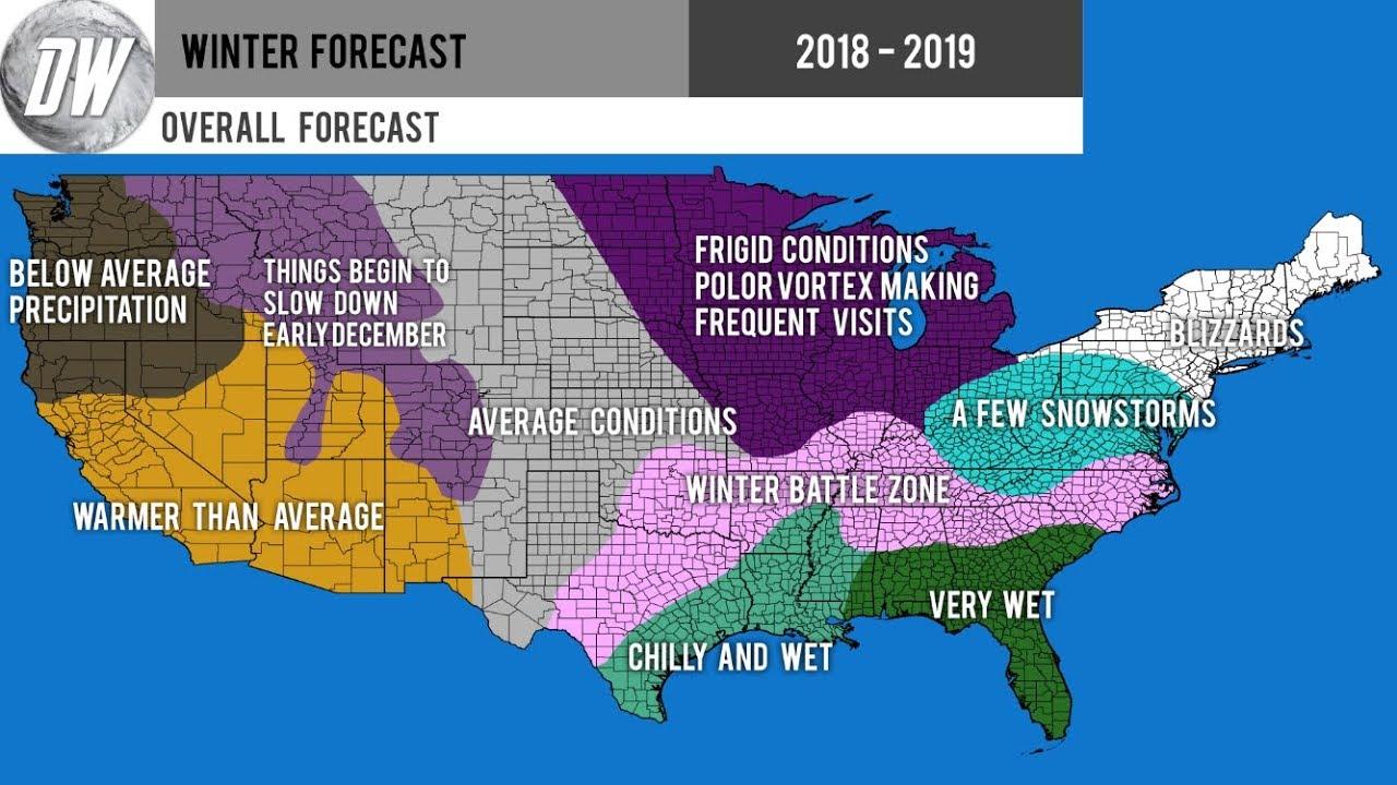 Preliminary Winter Forecast 2018 - 2019 #2