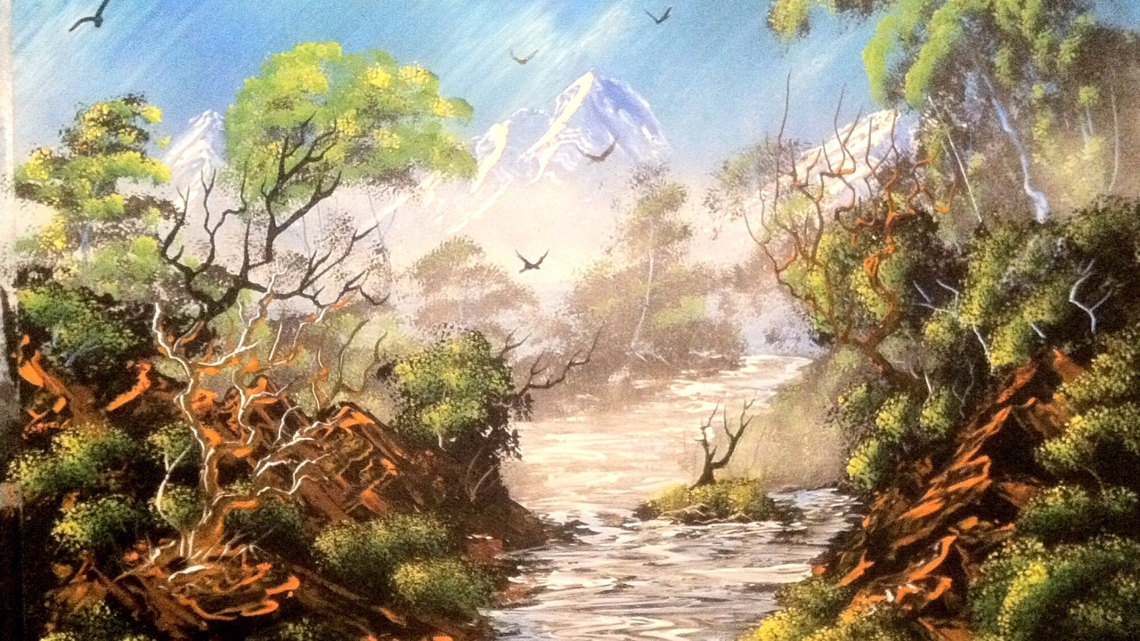 painting nature spray paintings natur paintingvalley famous collection