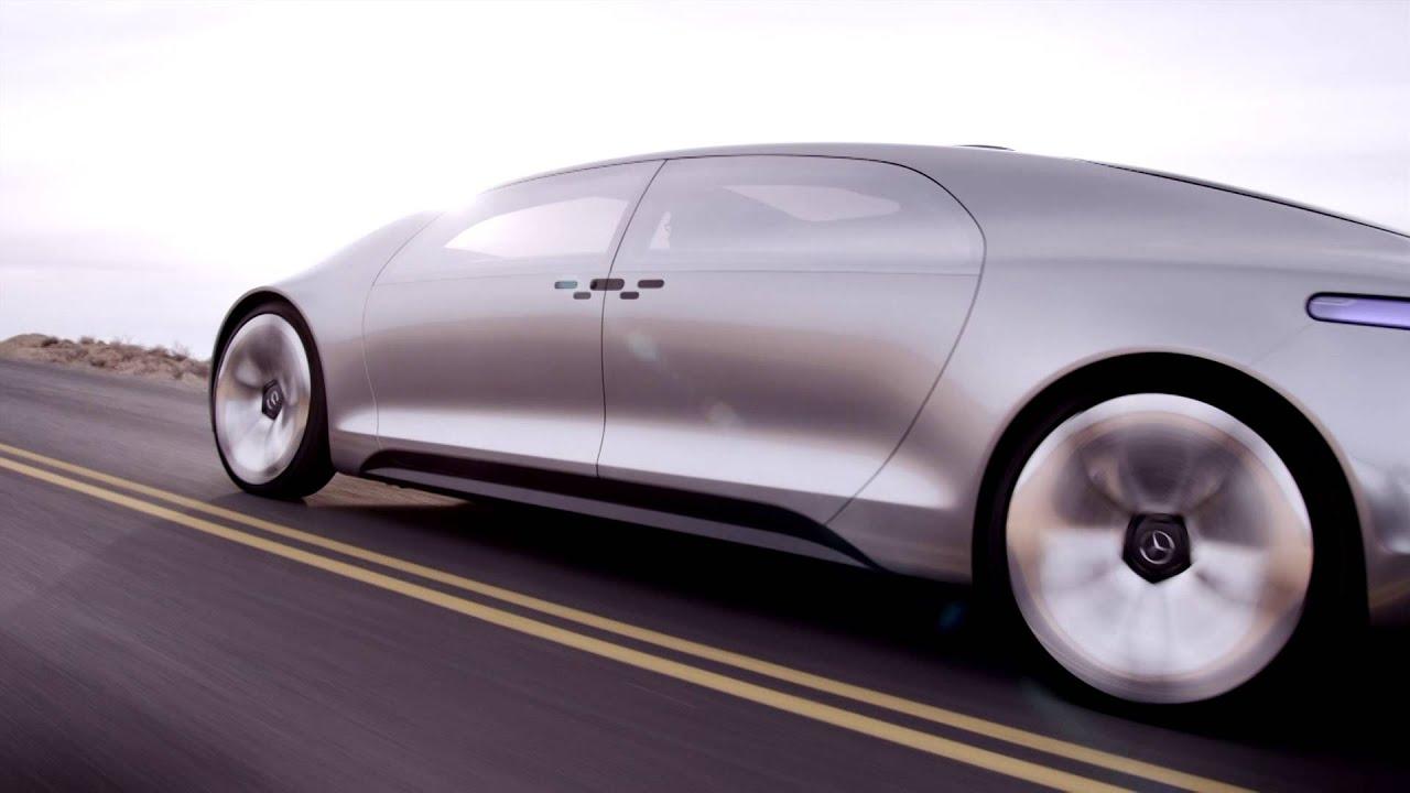 Mercedes benz y el auto que se maneja solo youtube for Carros mercedes benz