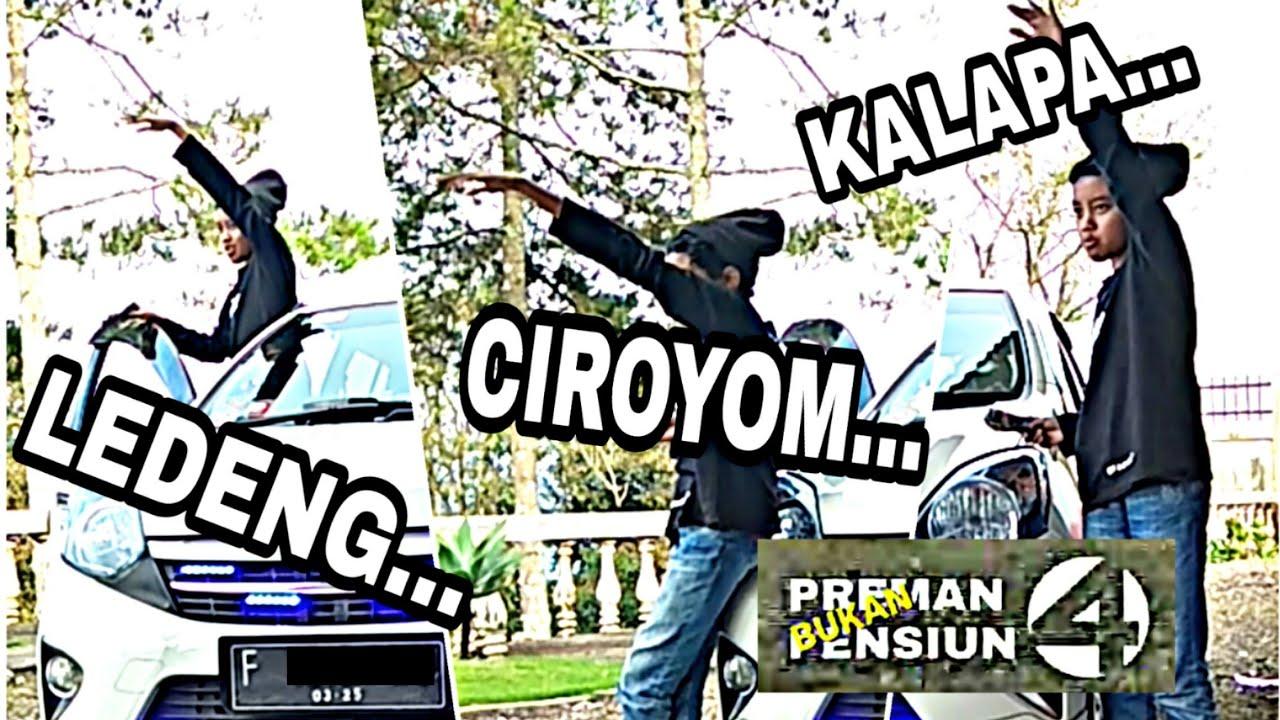 "Parodi Remix PREMAN PENSIUN 4 || ""Bukan PREMAN PENSIUN"" Kalapa,. Ciroyom,. Ledeng,."