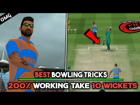 Best Bowling Tips & Tricks to take quickly 10 wickets in Wcc-2 2.8.1 Version | Teeky Tech