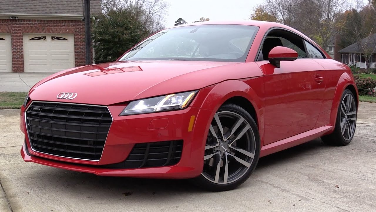 2016 audi tt quattro s tronic start up road test and in. Black Bedroom Furniture Sets. Home Design Ideas