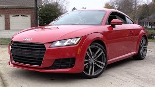 2016 Audi TT Quattro S-Tronic Start Up, Road Test, and In Depth Review