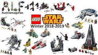 Lego Star Wars 2019 - Compilation of all Winter Sets 2018-2019