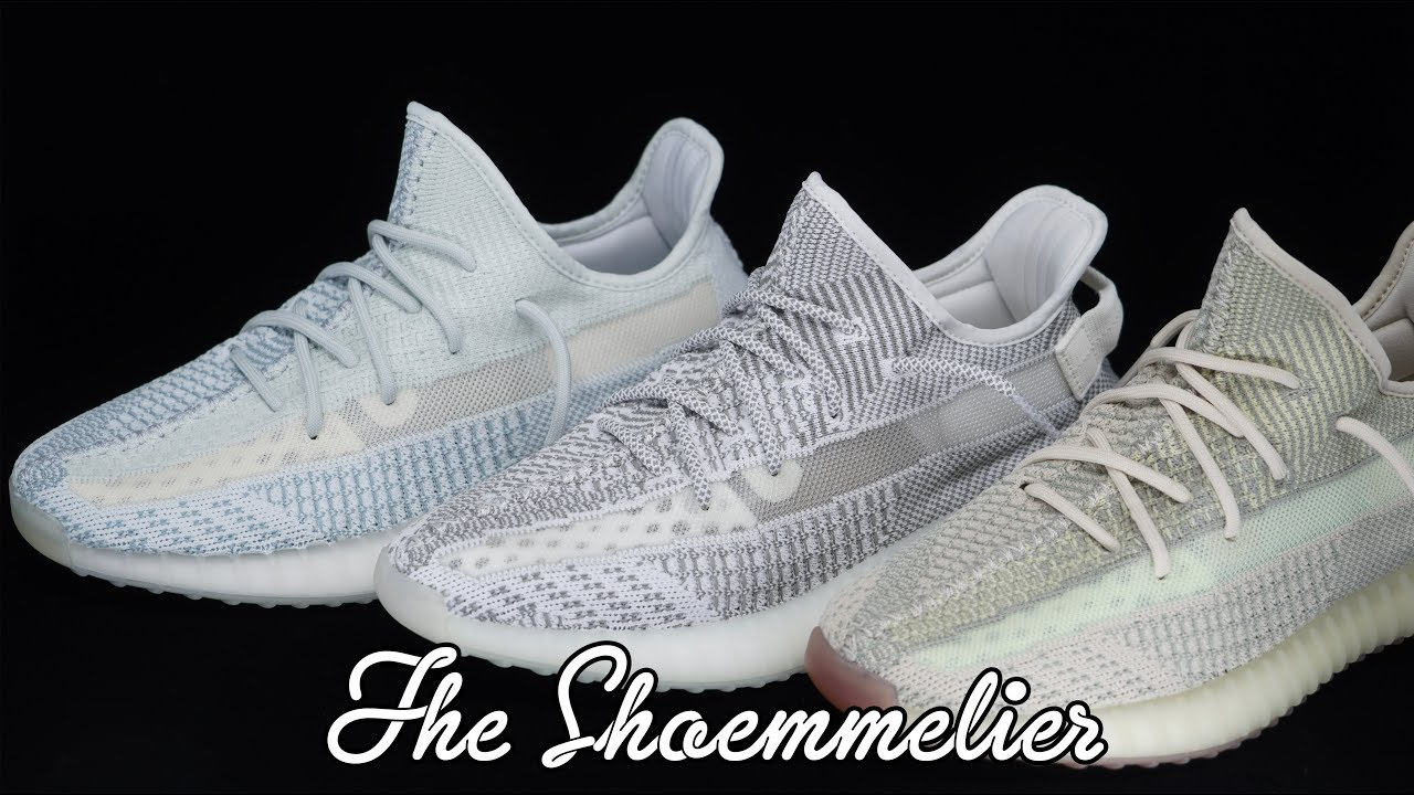 yeezy static white