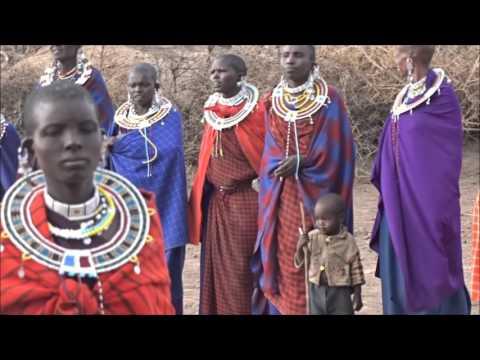 Masai Traditional Dance  Tanzania Serengeti