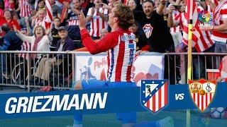 Golazo de Griezmann (2-0) Atlético de Madrid vs Sevilla FC