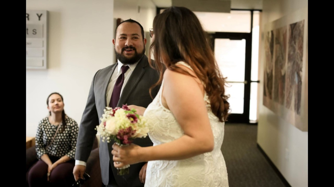 Niousha James Ventura Courthouse Wedding