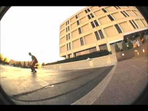 Chris Andersen Skateboarding!
