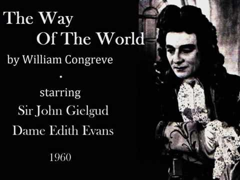 John Gielgud and Edith Evans in The Way Of The World by William Congreve - Act IV, Scenes 2-7 - 1960