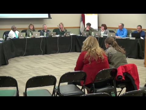December 11, 2017 Special Board of Education Meeting