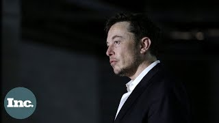 The 4 Biggest Mistakes Elon Musk Made in 2018 | Inc.