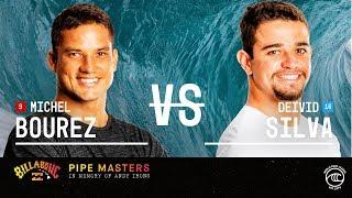 Michel Bourez vs. Deivid Silva - Round of 32, Heat 15 - Billabong Pipe Masters 2019