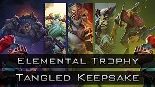 Dota 2 Chest Opening: Treasure of the Tangled Keepsake and the Elemental Trophy