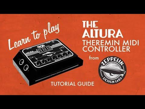 Altura Theremin MIDI Controller TUTORIAL