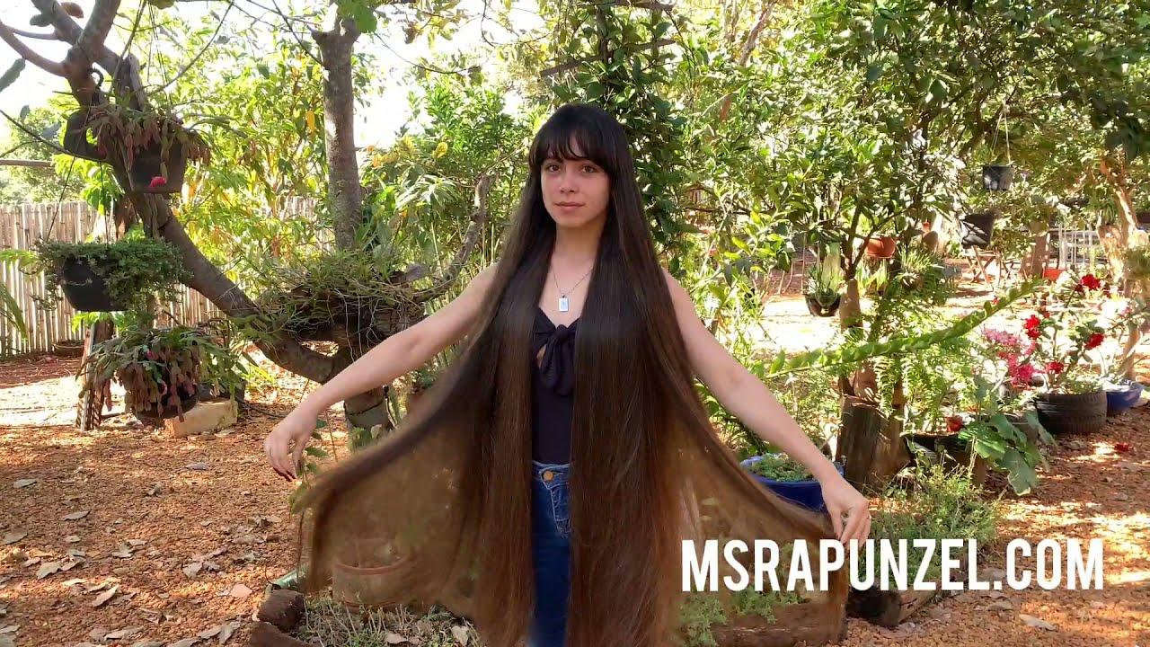 MsRapunzel   very Long Hair Model with Bangs