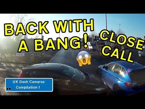 UK Dash Cameras - Compilation 1 - 2019 Bad Drivers, Crashes + Close Calls