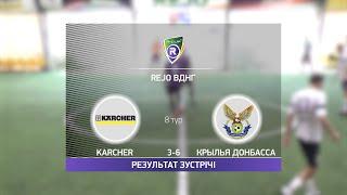 Обзор матча Karcher Крылья Донбасса Турнир по мини футболу в Киеве
