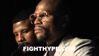FLOYD MAYWEATHER GIVES PASSIONATE SPEECH WHILE ACCEPTING AWARD FOR NVBHOF FIGHTER OF THE YEAR
