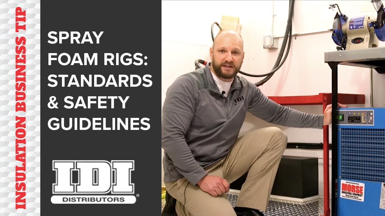 Spray Foam Insulation Rig Safety Standards Best Practices Youtube