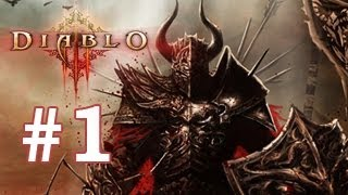 Diablo 3  Gameplay parte 01 PS3 Cooperativo