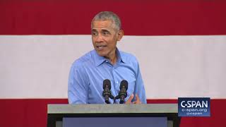 "Former President Obama: ""Nobody in my administration got indicted. (C-SPAN)"
