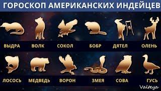 Гороскоп американских индейцев. Тотемные животные по Знаку Зодиака.  Астрология.