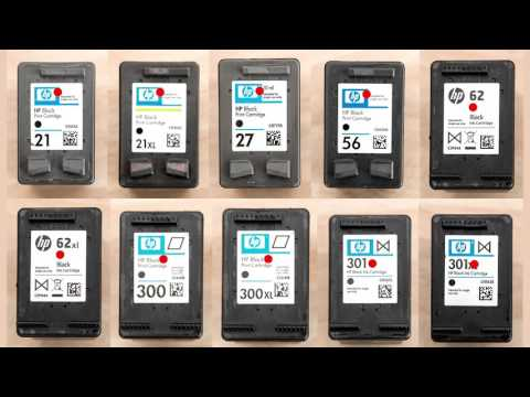 How To Refill Black Inkjet Cartridges Instructions 300 301 - 301xl 350 62 302 21 61 62 122 92 304
