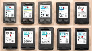 How To Refill Black Inkjet Cartridges Instructions 301 123 62 302 680 61 62 65 63 64 122 92 304 303