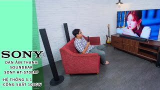 Dàn âm thanh soundbar 5 1 Sony HT-S700RF 1000W
