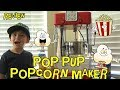 Great Northern POP PUP Kettle MOVIE STYLE Popcorn Maker UNBOXING and REVIEW Yummy HOMEMADE Popcorn