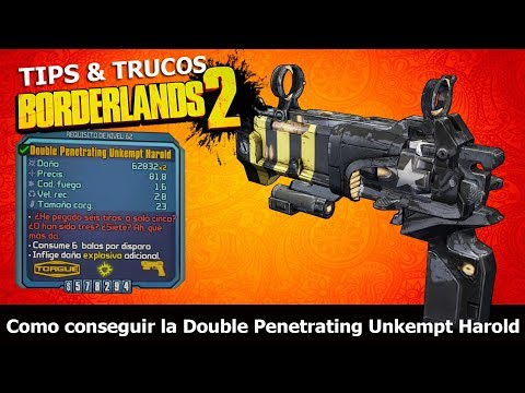Borderlands 2 | Remastered | Tips & Trucos | Como conseguir la Double Penetrating Unkempt Harold