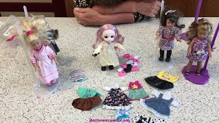American Girl Mini and BJD 7 Inch Dolls