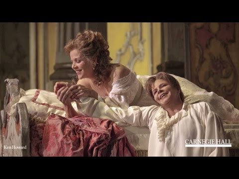 Renée Fleming in Conversation with Susan Graham: Friendship, Mistaken Identity, and Rosenkavalier