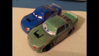 Disney Cars Custom Race-O-Rama Doc Hudson and Chick Hicks Racing Students Review