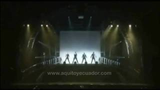 Everybody - Backstreet Boys (Tour 2011 - Quito Ecuador)
