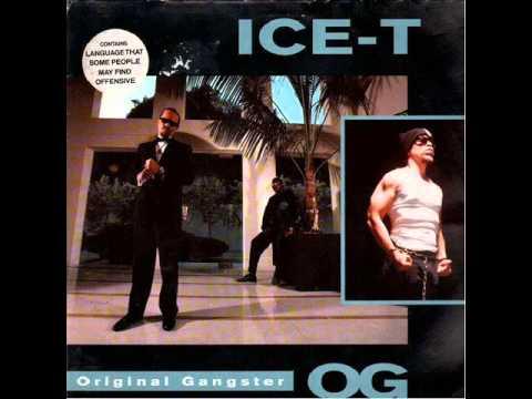 Ice T OG  Original Gangster  Track 10  OG   Original Gangster