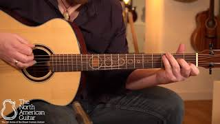 Andrew White Freja 100 Acoustic Guitar Played By Ben Smith (Part Two)