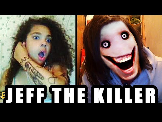 JEFF the KILLER GO TO SLEEP!!! : OMEGLE SCARE PRANK