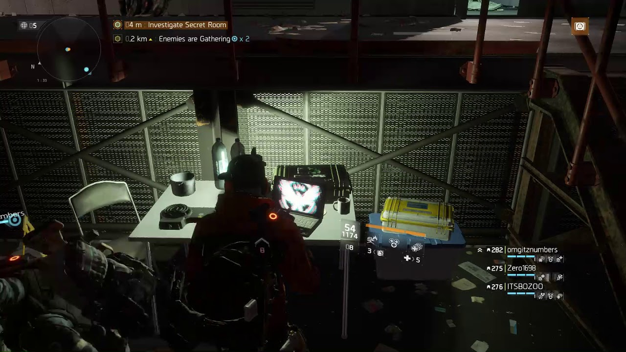 The Division - Secret Room in WSP - YouTube