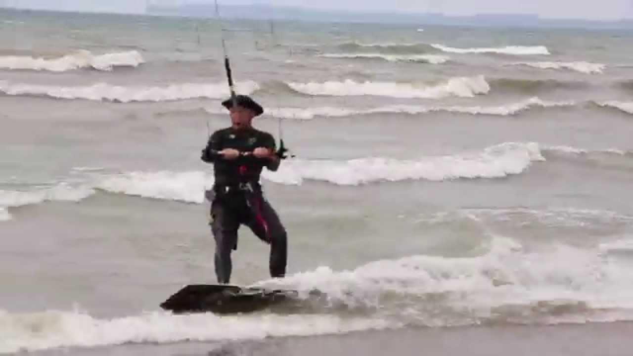 Kitesurfing Long Beach Ontario Canada