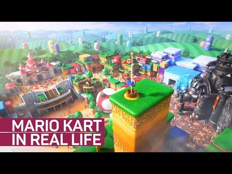 Ride Mario Kart in real life at Universal's Super Nintendo World