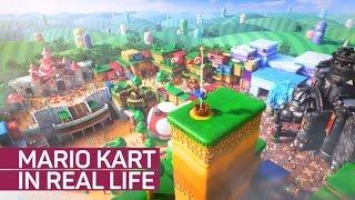 Ride Mario Kart in real life at Universal