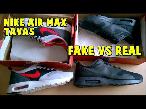 3e58eff39 PORADNIK jak odróżnić oryginalne NIKE Air Max TAVAS od podróbek z  Aliexpressu - YouTube