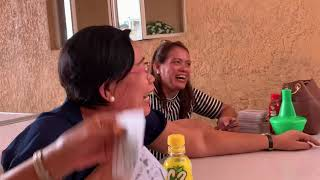🐵 MONKEY GAMES WITH MOM TITAS/AWESOME ROAD BATANGAS CITY FIL-AM COUPLE HAPPY