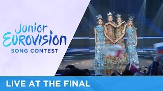 The Water of Life Project - Water Of Life (Russia) LIVE Junior Eurovision 2016