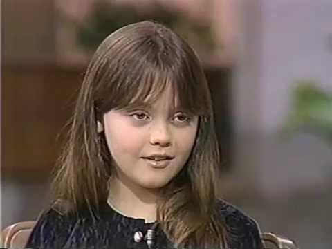 Christina Ricci interview 1990. Age 9