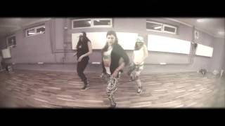Weronika Otrebska dancehall choreography on Vybz Kartel Get your owner lighter
