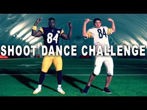 SHOOT DANCE CHALLENGE ft Antonio Brown & Matt Steffanina #Madden19